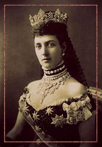 Queen Alexandra of Great Britain in the Rundell tiara