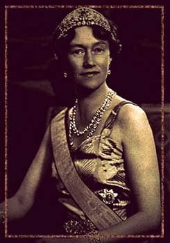 Grand Duchess Charlotte of Luxembourg wearing the Grand Duchess Adelaide tiara