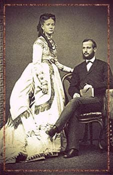 Infanta Isabel of Spain and her husband, Prince Gaetano of Bourbon-Two-Sicilies