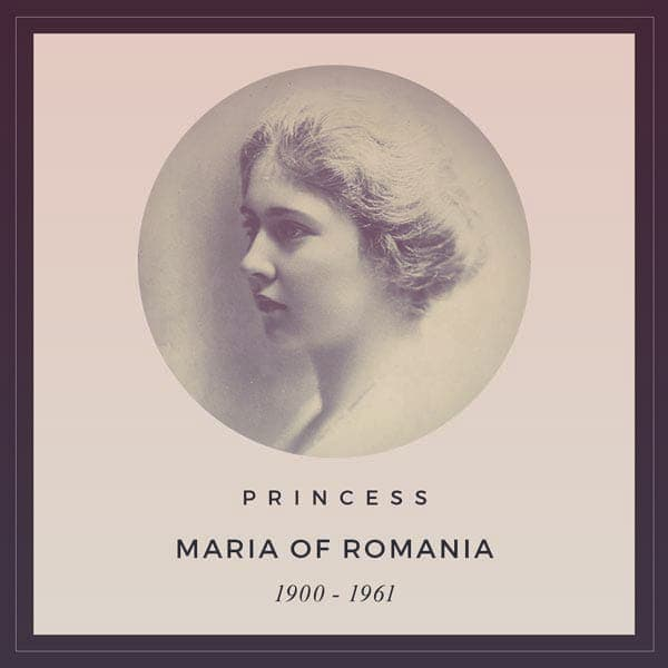 Princess Maria of Romania, 1900-1961