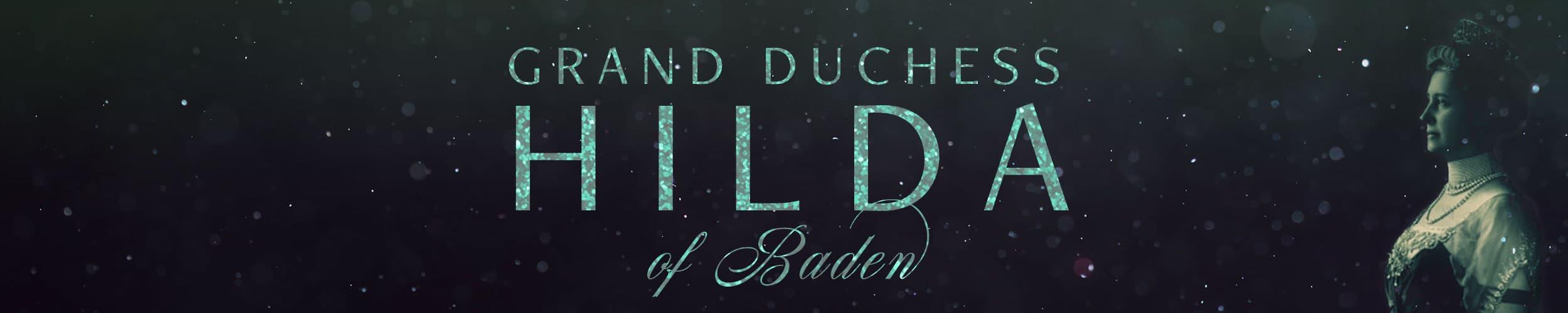Grand Duchess Hilda of Baden: Image of Hilda wearing her kokoshnik tiara