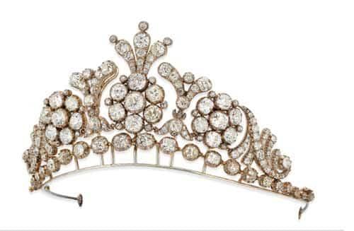 Lady Grantchester's tiara