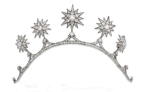 Spencer Stanhope star tiara