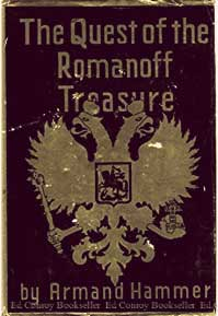 The Quest of the Romanoff Treasure by Armand Hammer