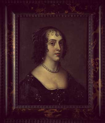 Portrait of Queen Henrietta Maria, up for auction at Christie's