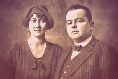 Adolf and Hilda Schwarzenberg