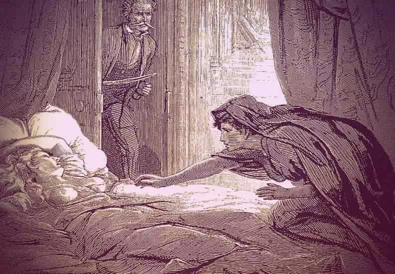 """Illustration from """"Carmilla"""""""
