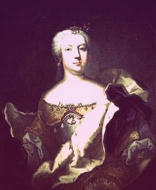 "Maria Anna von Schwarzenberg | From ""Was Eleonora von Schwarzenberg a Real-Life Vampire Princess?"" on GirlInTheTiara.com."
