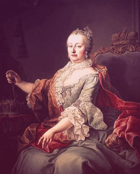 "Empress Maria Theresa | From ""Was Eleonora von Schwarzenberg a Real-Life Vampire Princess?"" on GirlInTheTiara.com."