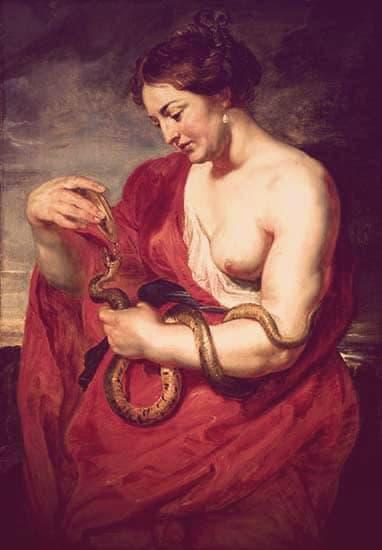 Hygeia by Peter Paul Rubens