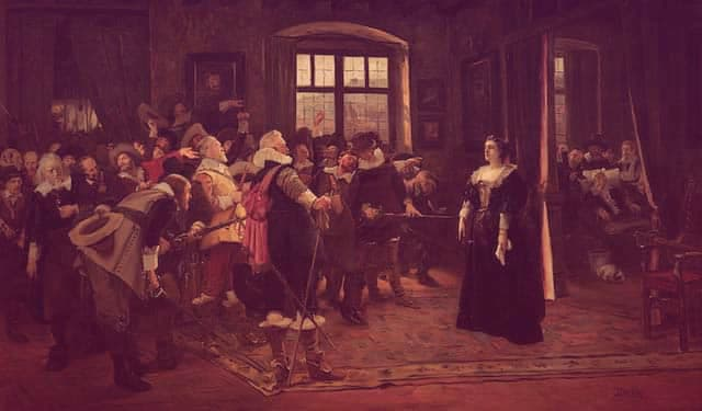 Painting of Polyxena Lobkowicz after the Defenestration of Prague