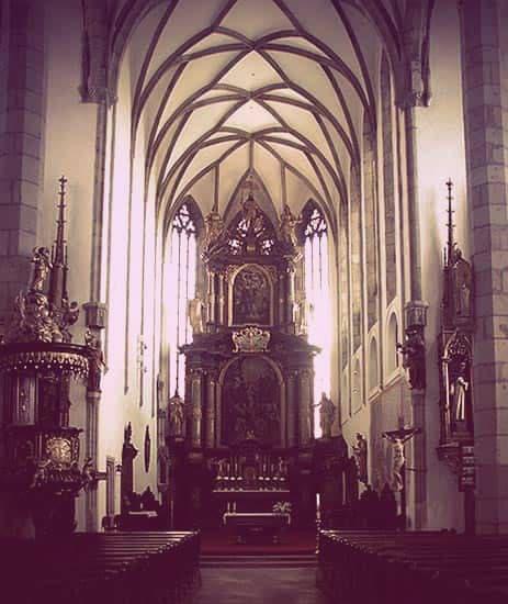 St. Vitus Altar at Cesky Krumlov