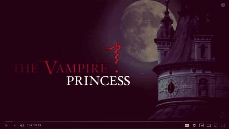 "Screenshot of ""The Vampire Princess"" documentary | From ""Was Eleonora von Schwarzenberg a Real-Life Vampire Princess?"" on GirlInTheTiara.com."