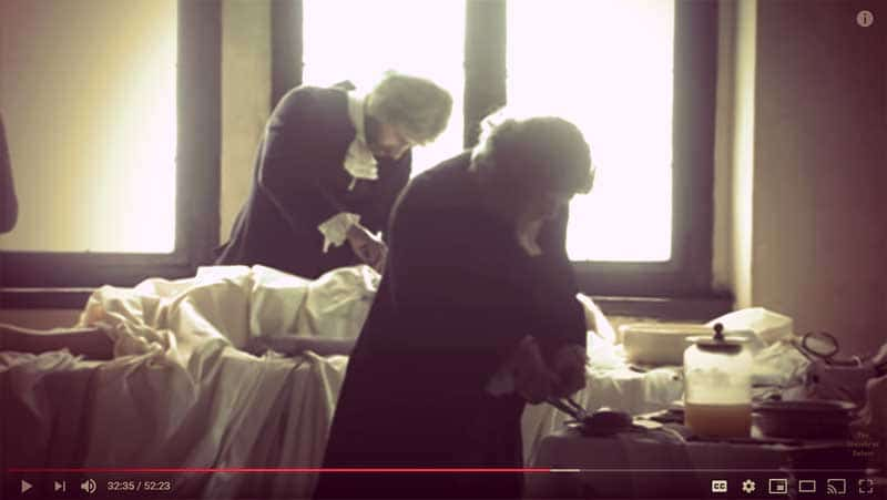"Screenshot from ""The Vampire Princess"" documentary | From ""Was Eleonora von Schwarzenberg a Real-Life Vampire Princess?"" on GirlInTheTiara.com."