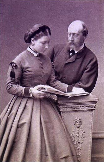Princess Helena of Great Britain and Ireland and Prince Christian of Schleswig-Holstein