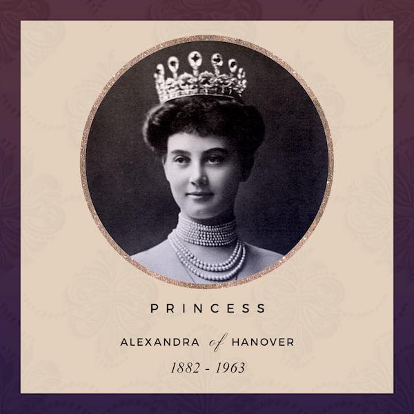 Princess Alexandra of Hanover 1882-1963 - later Grand Duchess Alexandra of Mecklenburg-Schwerin
