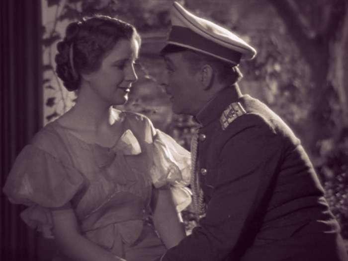 Screenshot of Princess Natasha and Prince Paul holding hands.