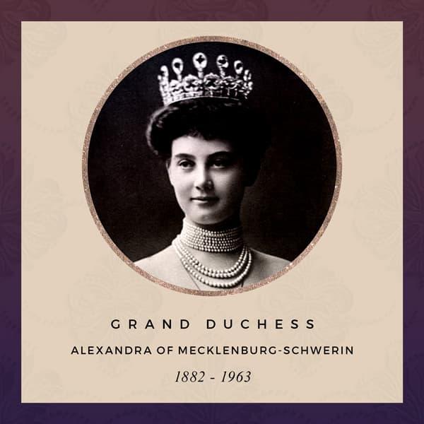 Grand Duchess Alexandra of Mecklenburg-Schwerin